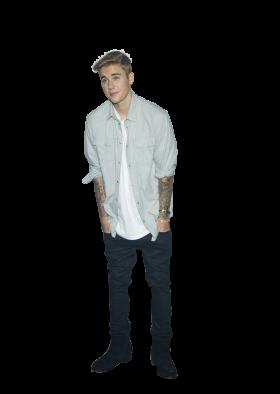 Justin Bieber Standing
