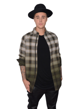 Justin Bieber with Hat