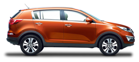 Kia Sportage Orange Car