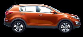 Kia Sportage Orange Car
