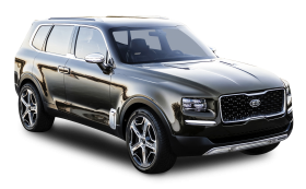 Kia Telluride Black Car