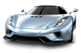 Koenigsegg Regera Front Car