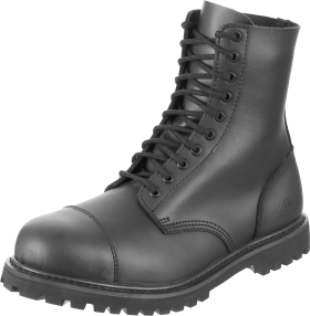 Lady Black Combat Boots