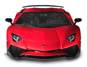 Lamborghini Aventador Red Car