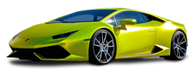 Lamborghini Huracan Green Car