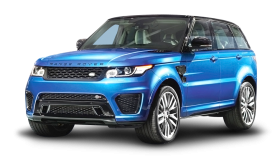 Land Rover Range Rover Blue Car