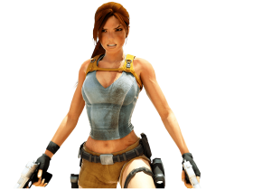 Lara Croft |  Tomb Raider  With Guns
