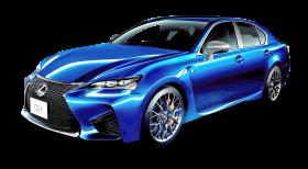 Lexus GS Blue Car