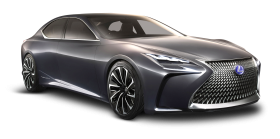 Lexus LF FC Grey Car