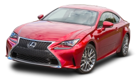 Lexus RC 350 Red Car
