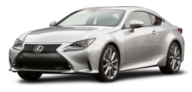 Lexus RC 350 Silver Car