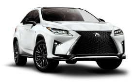 Lexus RX 350 F White Car