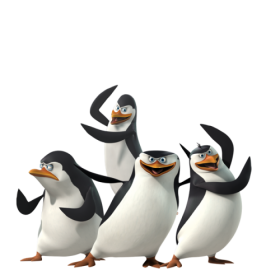 Madagascar Penguins