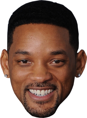 Man Face Will Smith