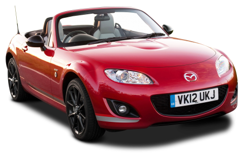 Mazda MX 5 Kuro Red Car