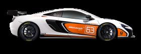 McLaren 675LT White Car