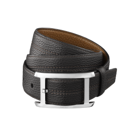Men's leather belts: cowhide
