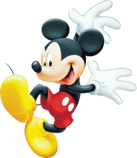 Mickey  Mouse Happy