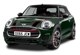 Mini John Cooper Works Green Car