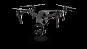 Modern Black Spying drone