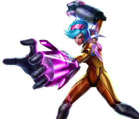 Neon Strike VI best skin for Vi