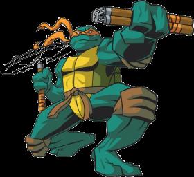 Ninja Tutle Michelangelo-