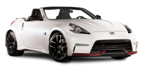 Nissan 370Z NISMO Roadster White Car