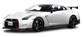 Nissan GT R NISMO White Car