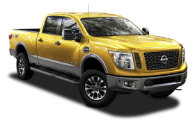 Nissan Titan XD Golden Color Car