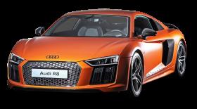 Orange Audi R8 Car