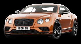 Orange Bentley Continental GT Speed Car