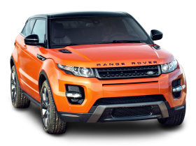 Orange Land Rover Range Rover Car