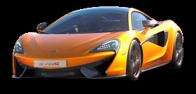 Orange Mclaren 570s Car