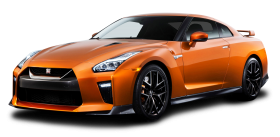 Orange Nissan GTR Car