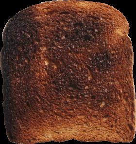 Overdone Toast