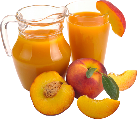 Peaches with Juice
