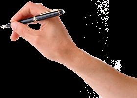 Pen On Hand