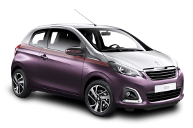 Peugeot 108 Purple Car