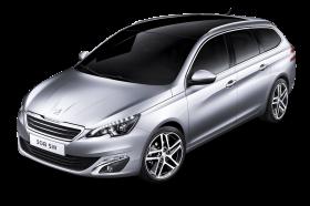 Peugeot 308 SW Silver Car