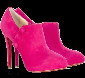 Pink Women Boot