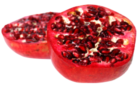 Pomegranate Sliced