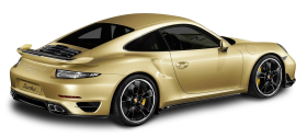 Porsche 911 Turbo Aerokit Gold Car