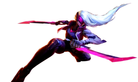 Project Katarina Skin Splashart Render