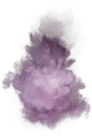 Purple powder explosive material
