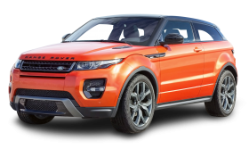 Range Rover Evoque Orange Car