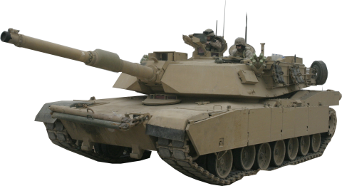 Real Army Tank
