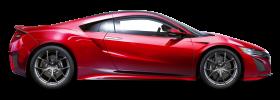 Red Acura NSX Car