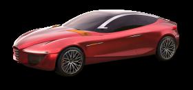 Red Alfa Romeo Gloria Car
