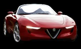 Red Alfa Romeo Super Car