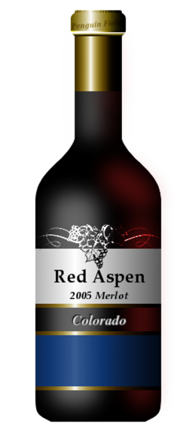 Red Aspen Bottle
